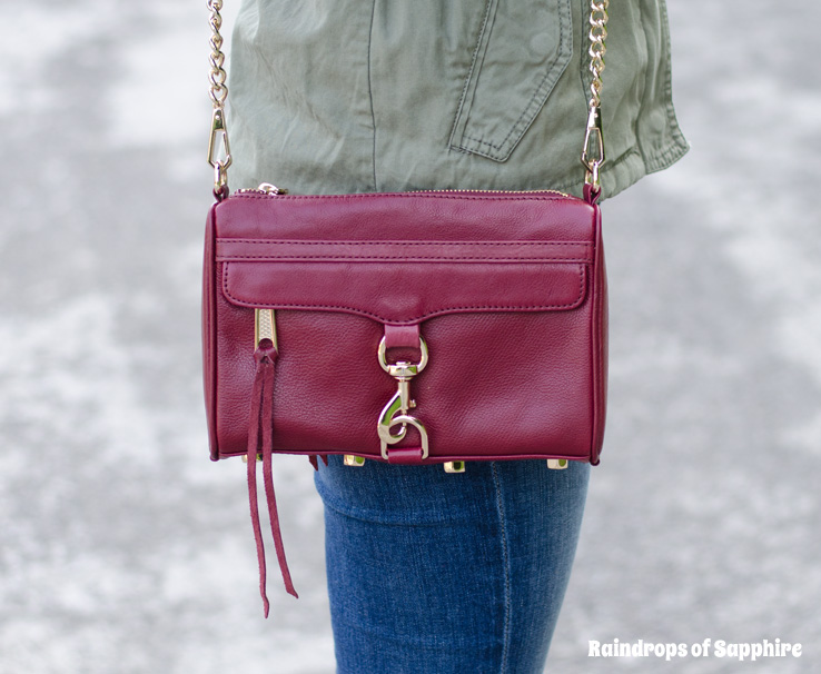 rebecca minkoff mini mac bag port burgundy