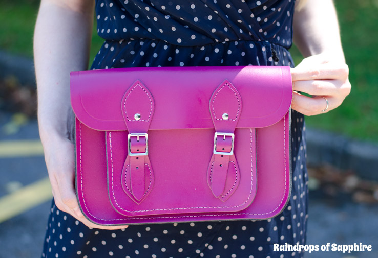 cambridge satchel wine matte