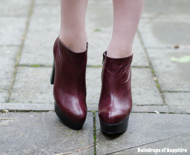 ba712694b3d3a chloe-red-burgundy-leather-boots-booties