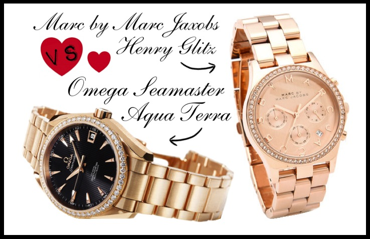 omega watch marc jacobs rose gold My Love For Rose Gold Watches   Save Or Crave