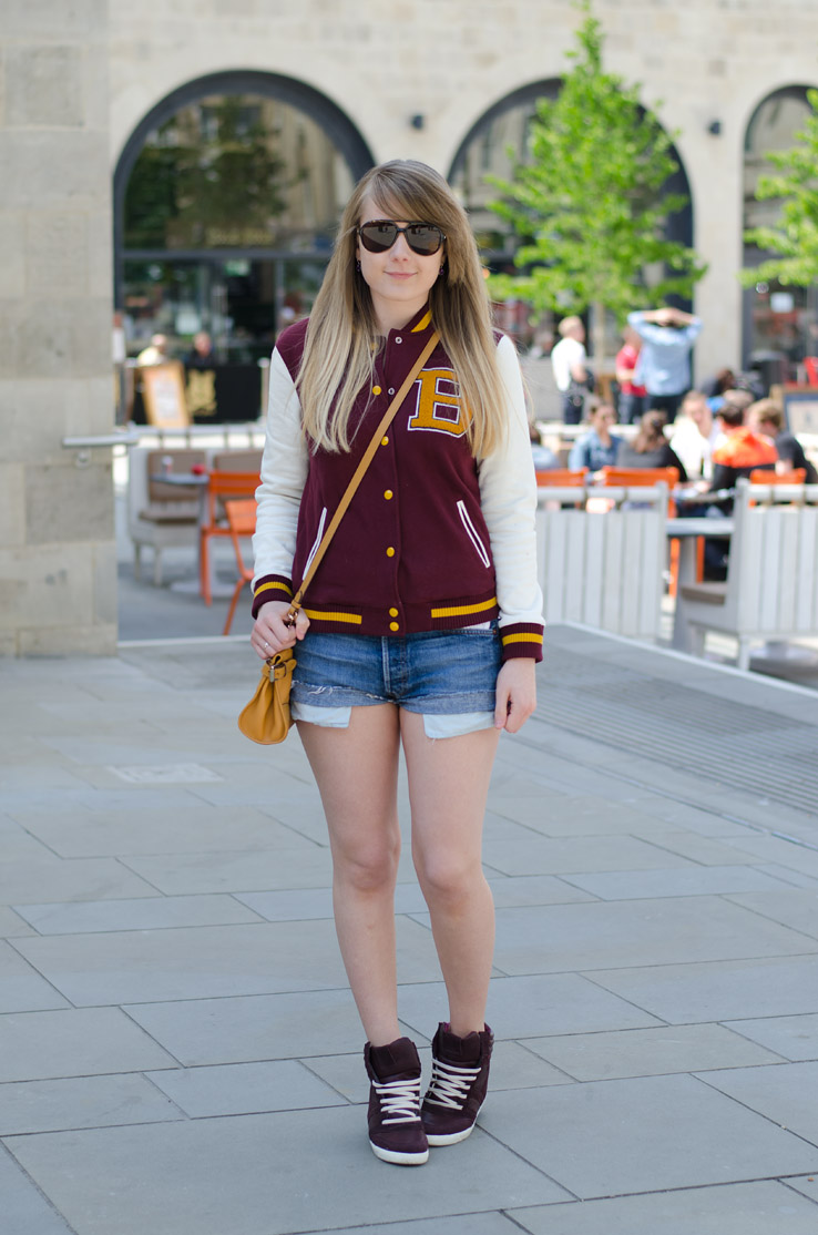 varisty-jacket-denim-shorts
