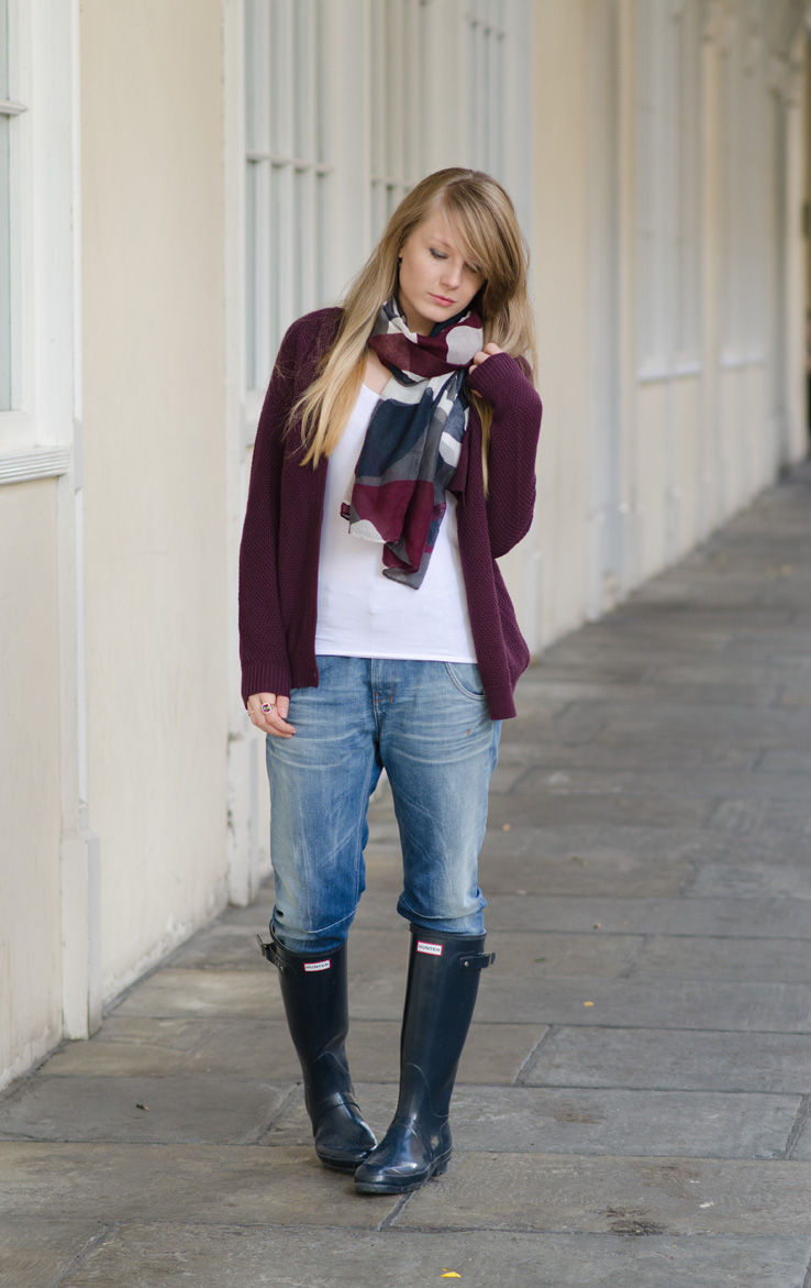 navy-hunter-gloss-tall-wellies-outfit