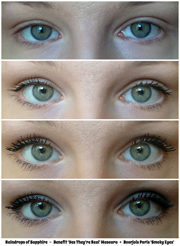 0c474e7e21b benefit-yes-they're-real-mascara-before-after-smoky-eyes – Raindrops ...