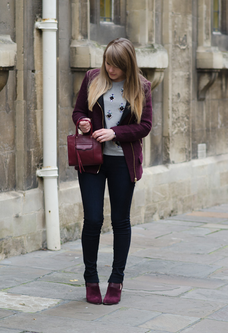 lorna burford autumn outfit burgundy Another Burgundy Sensation