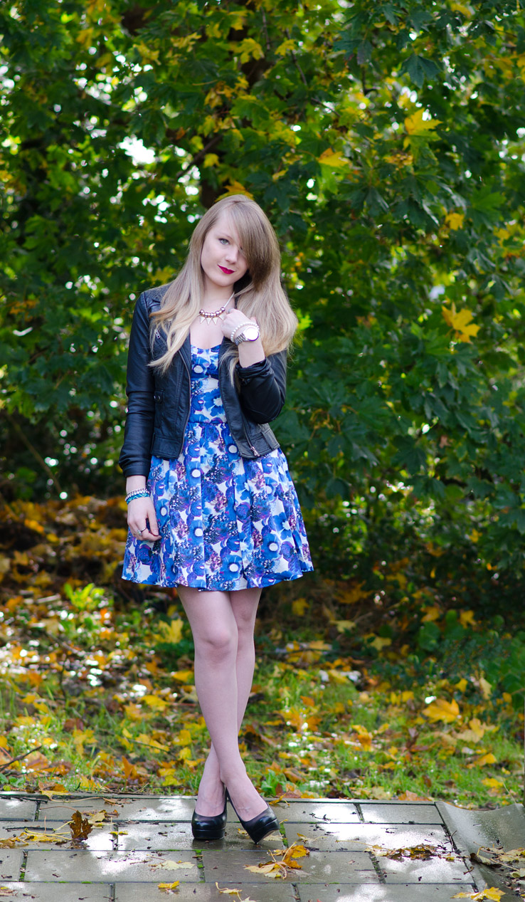 lorna-burford-floral-blue-dress-black-leather-jacket