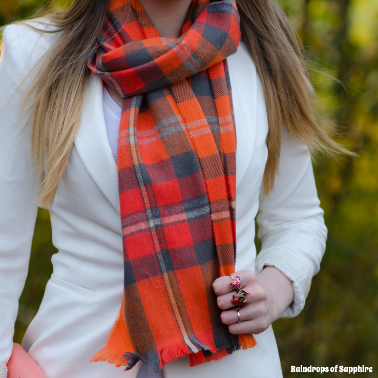 topshop-orange-scarf-plaid