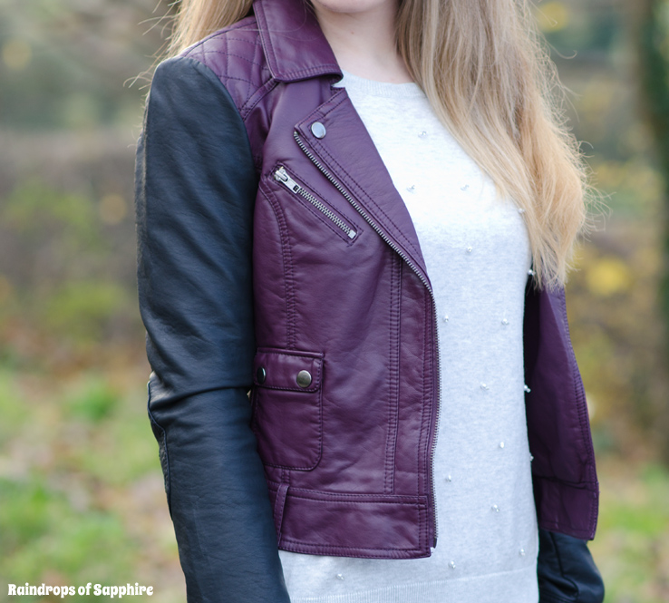 french-connection-colour-block-leather-jacket