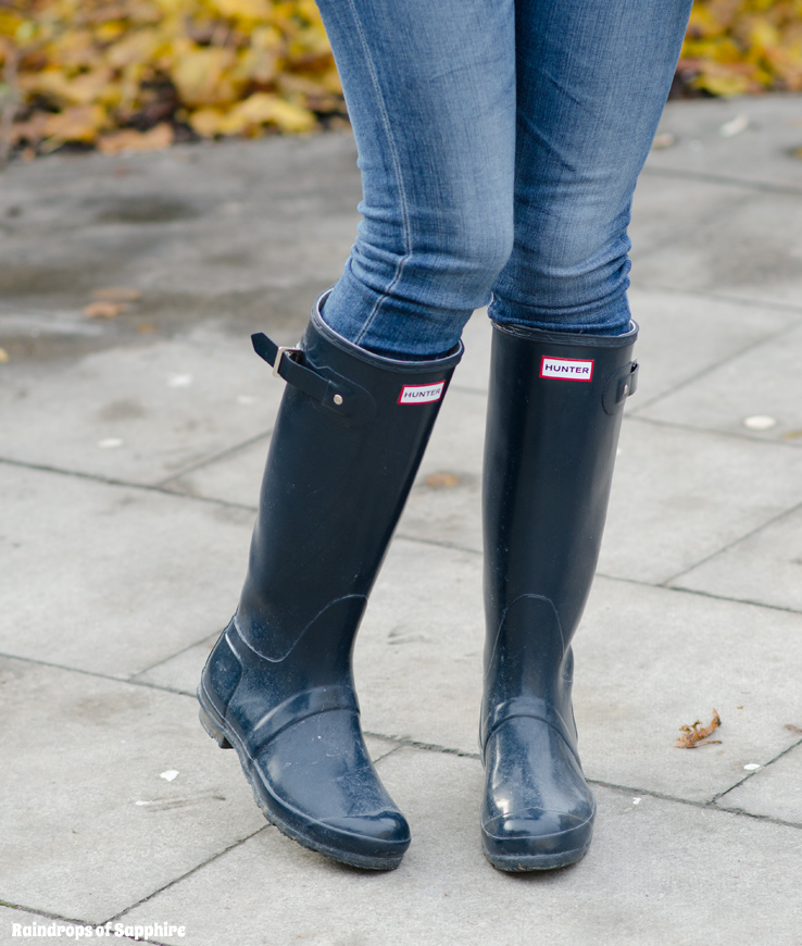 My Hunter Wellies/Rain Boots Collection | Raindrops of Sapphire