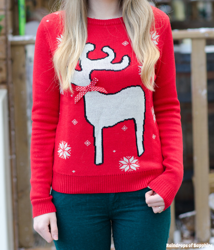 reindeer-christmas-red-bow-jumper-sweater-asos