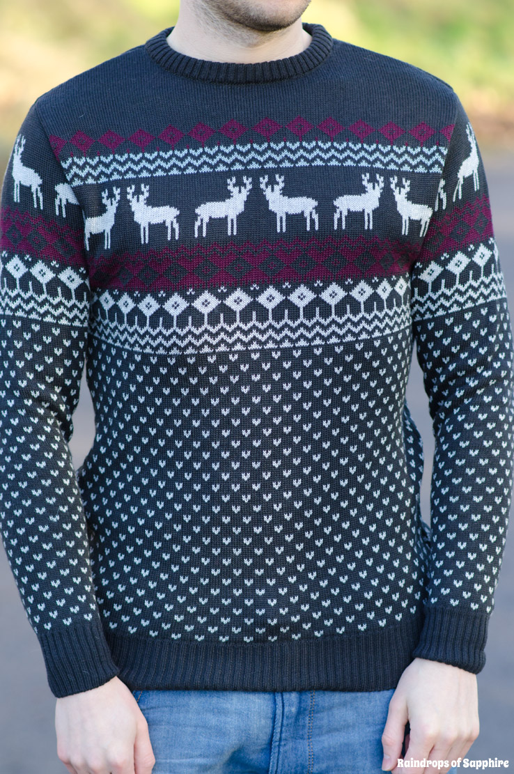 asos-mens-navy-reindeer-christmas-jumper