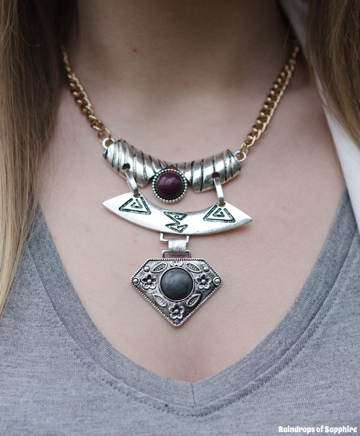 topshop-necklace-silver-tribal