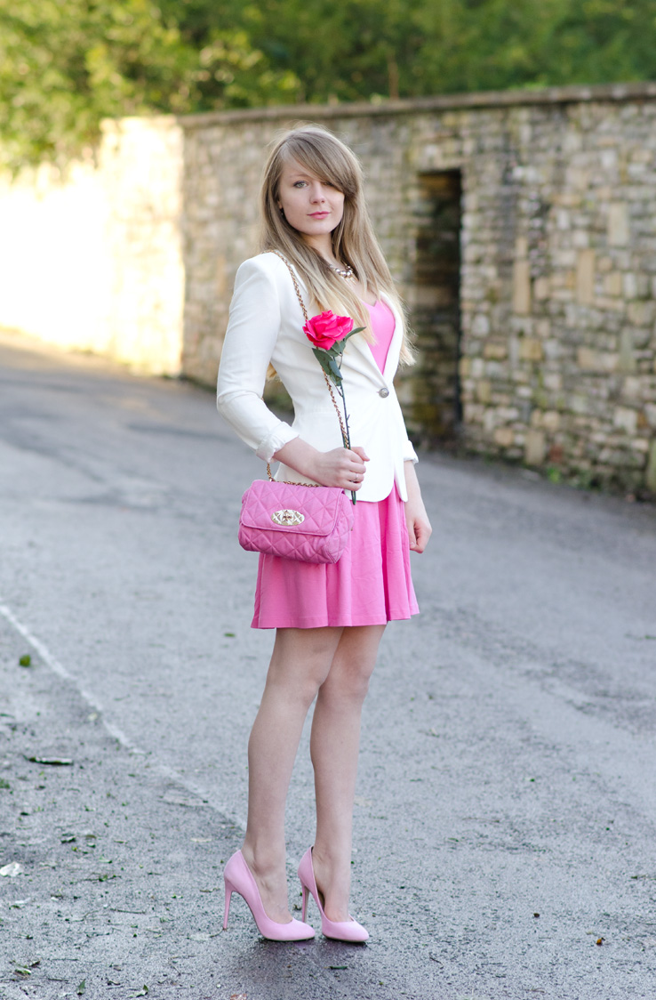 asos-pink-heart-dress-white-blazer
