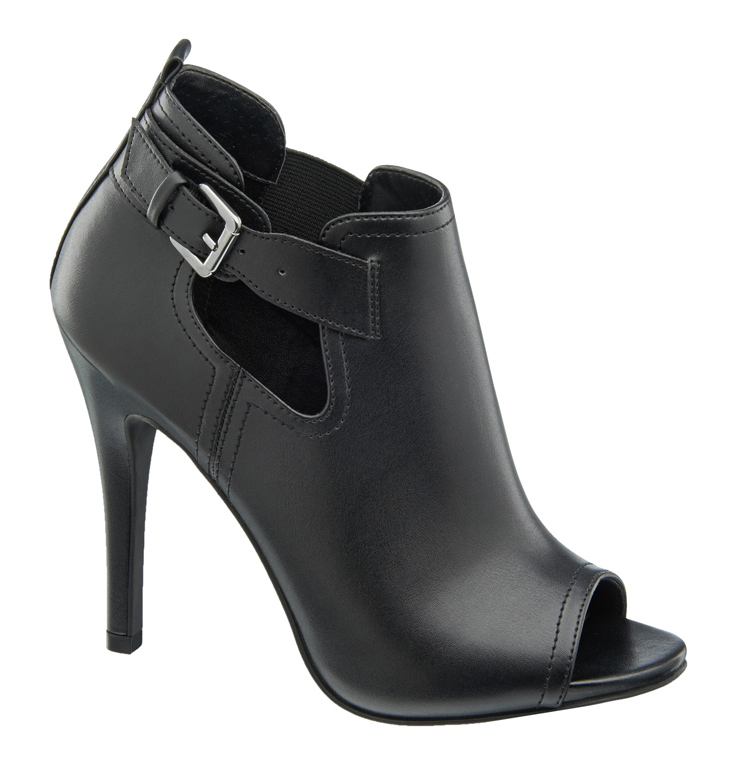 1 290 603, Peep toe shoe boot with cut out detail, ú27.99 (Caroline Blomst)