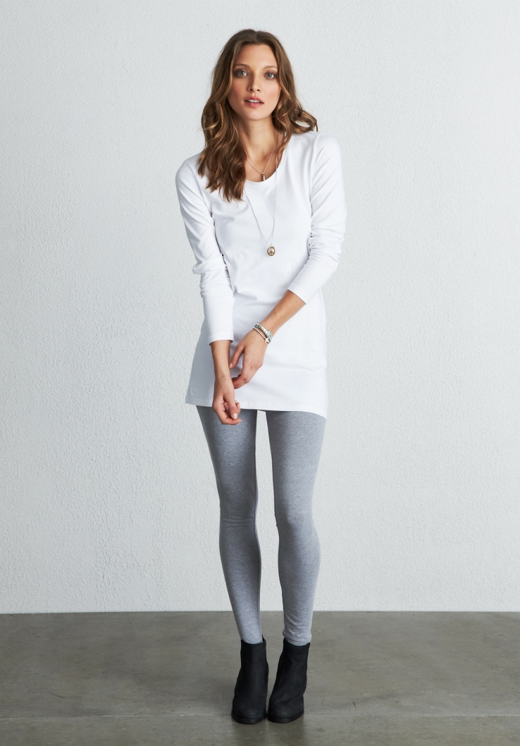 hush ss14 leggings grey