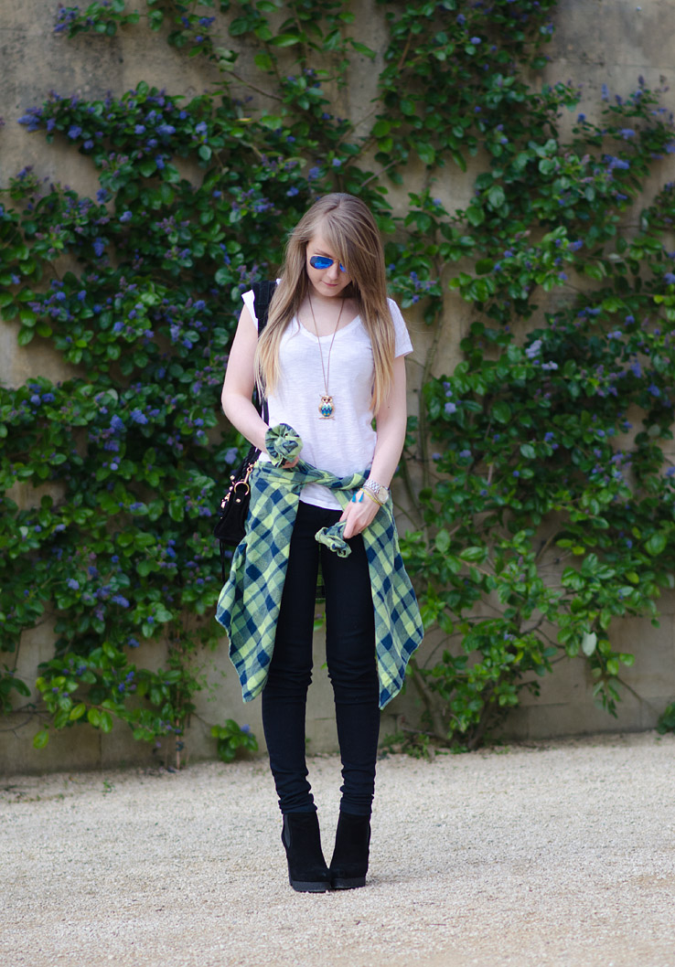 lorna-burford-black-jeans-green-check-shirt