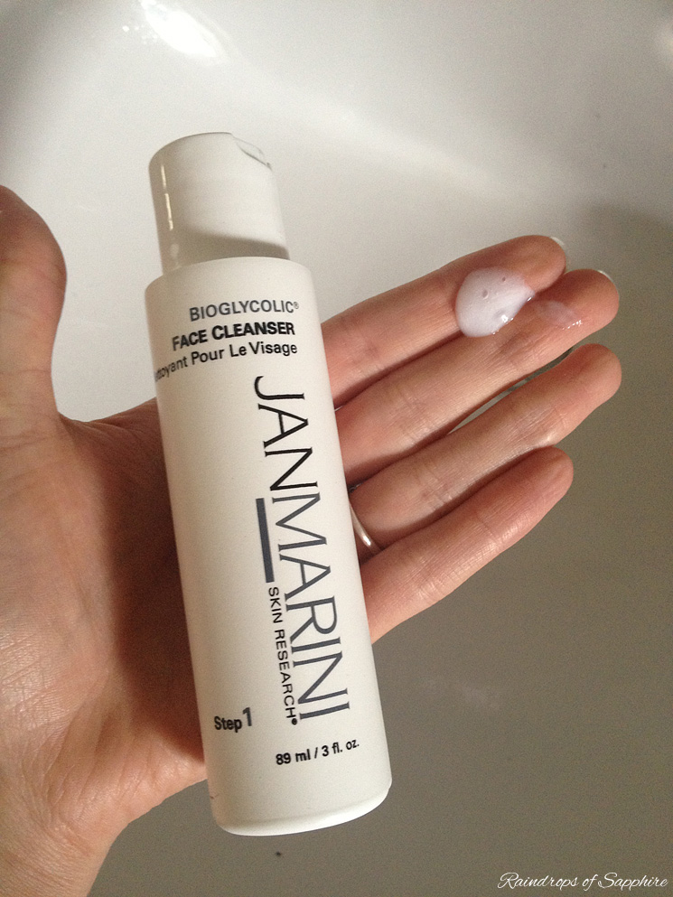 jan marini face cleanser My Skin Care Routine: Jan Marini, Liz Earle & Origins