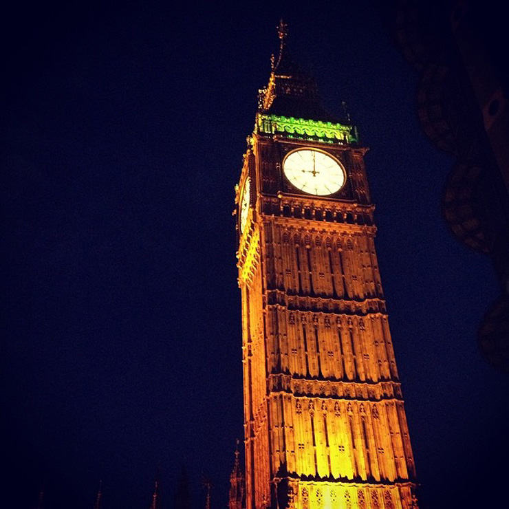 london big ben My 6 Year Anniversary London Holiday Via Instagram