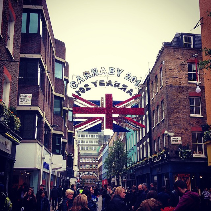 london carnaby street My 6 Year Anniversary London Holiday Via Instagram