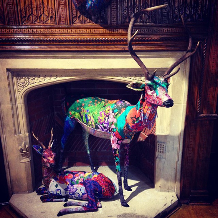 london liberty deers My 6 Year Anniversary London Holiday Via Instagram