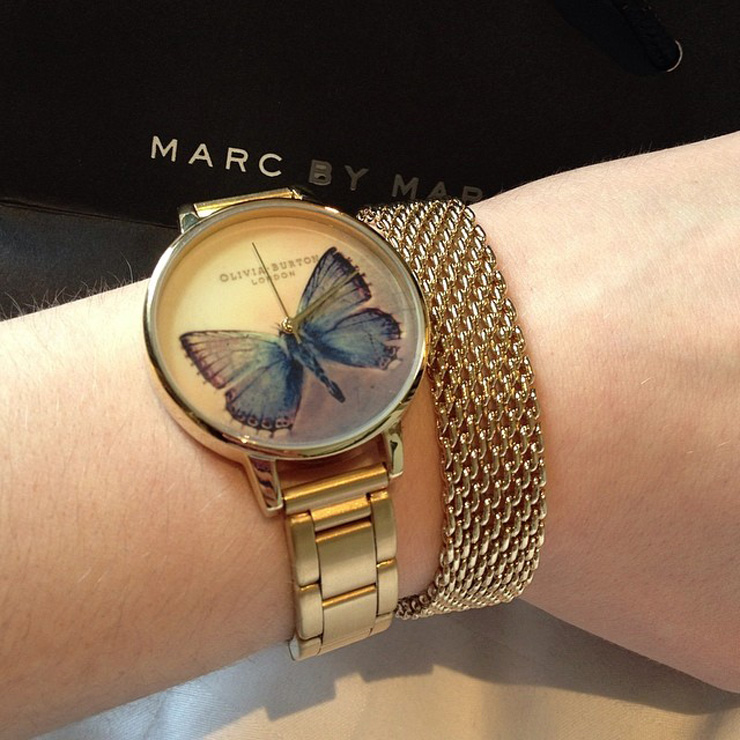 london olivia burton butterfly watch My 6 Year Anniversary London Holiday Via Instagram