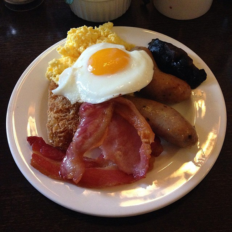 london the grosvner hotel breakfast My 6 Year Anniversary London Holiday Via Instagram