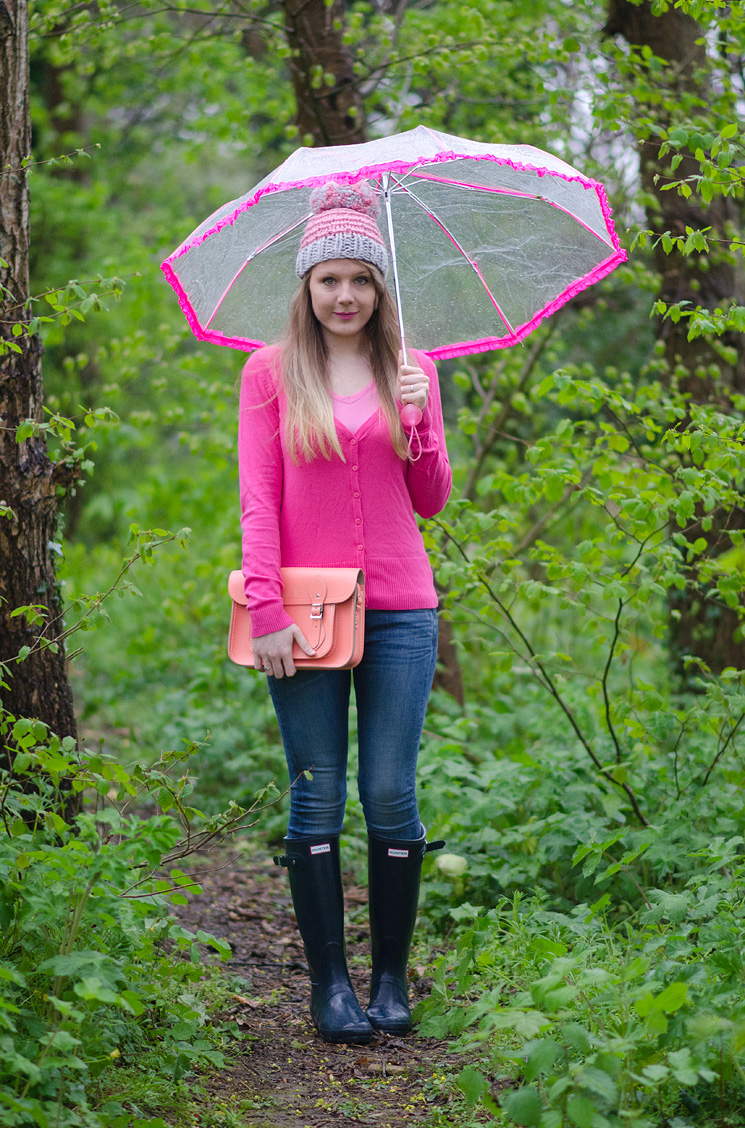 lorna burford pink blue rain outfit Drip, Drip, Drip Little April Showers