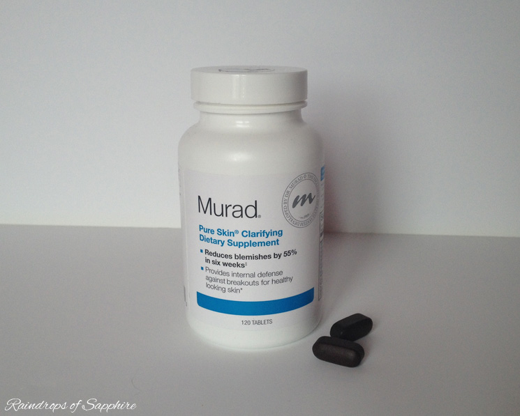 murad purifying skin vitamins tablets My Skin Care Routine: Jan Marini, Liz Earle & Origins