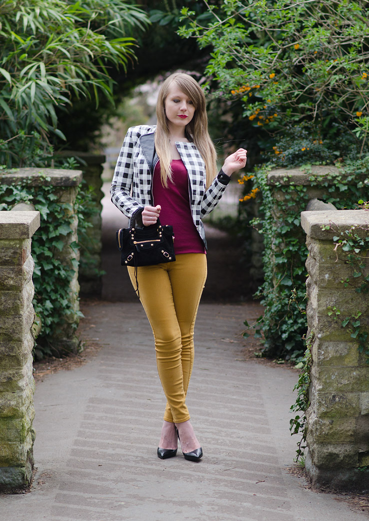 mustard-jeans-rare-black-white-check-leather-jacket