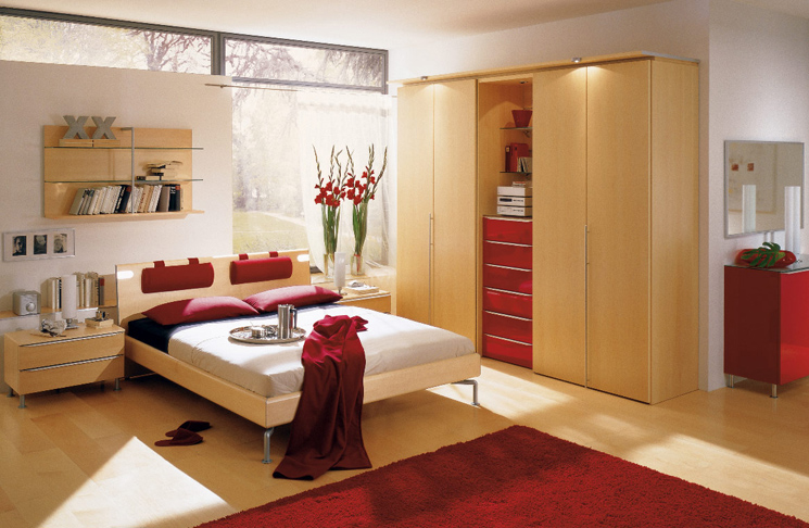 red bedroom edited 1 My Dream Bedroom/Closet   Inspiration & Ideas