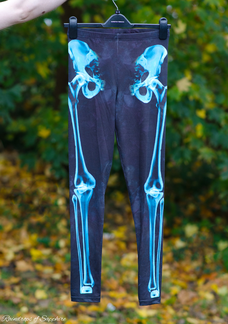 topshop skeleton leggings New Autumn Purchases   Part 2
