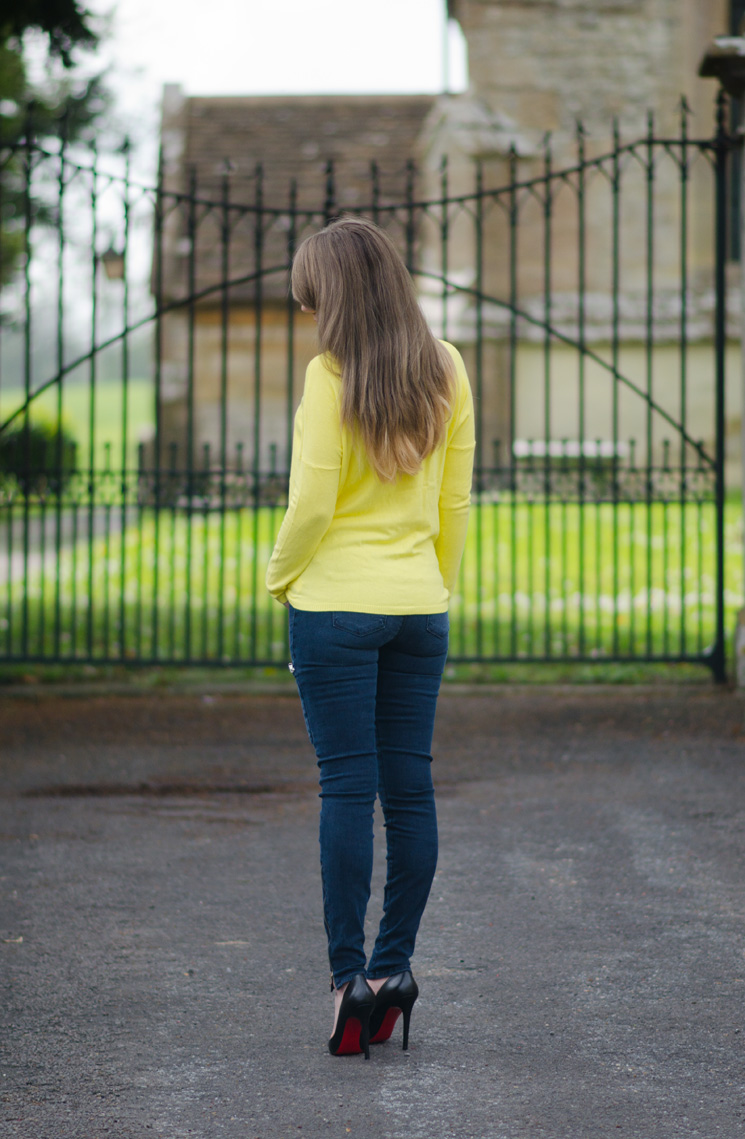 blonde-ombre-hair-yellow-zara-top-blogger
