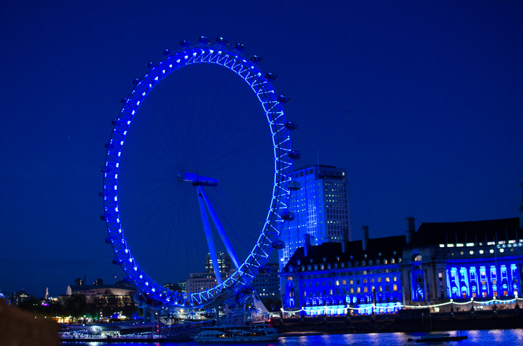 london eye at night Outfits, Sightseeing & More From London