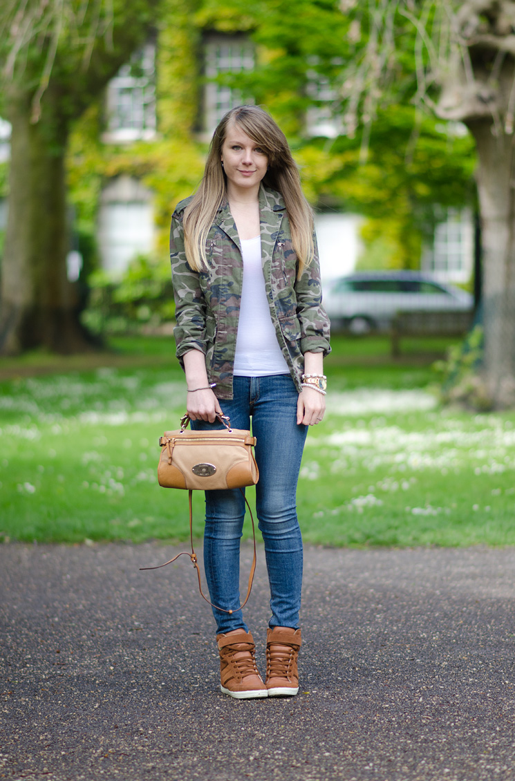 a55bbdce2fab4 Rag & Bone Skinny Jeans With Topshop Camo Jacket | Raindrops of Sapphire