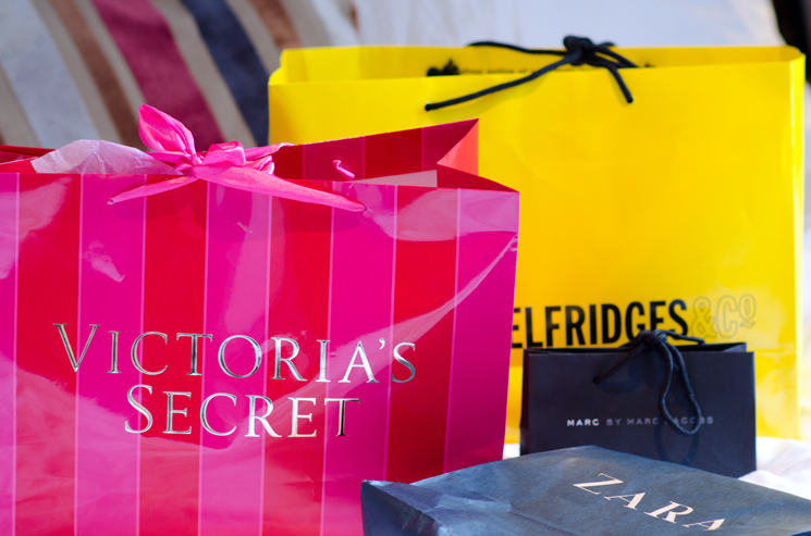 shopping-bags-london-victoria-secret-selfridges