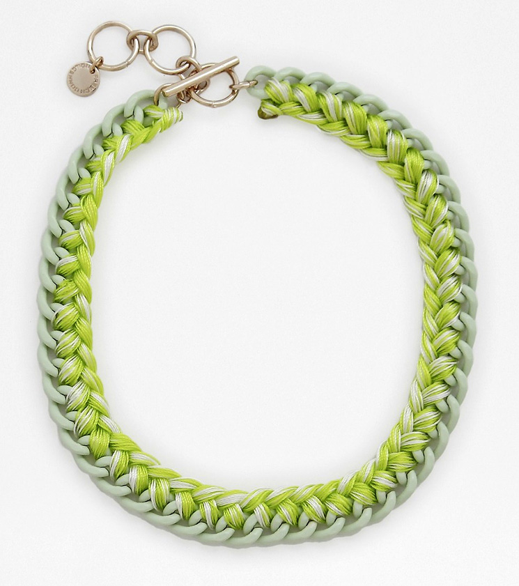 French-Connection-Ombre-Thread-Wrapped-Necklace