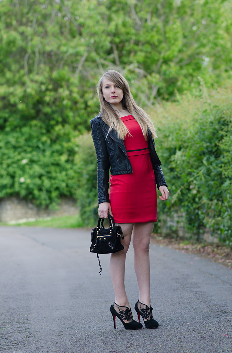fever-london-red-vintage-dress-blogger-rock-chic
