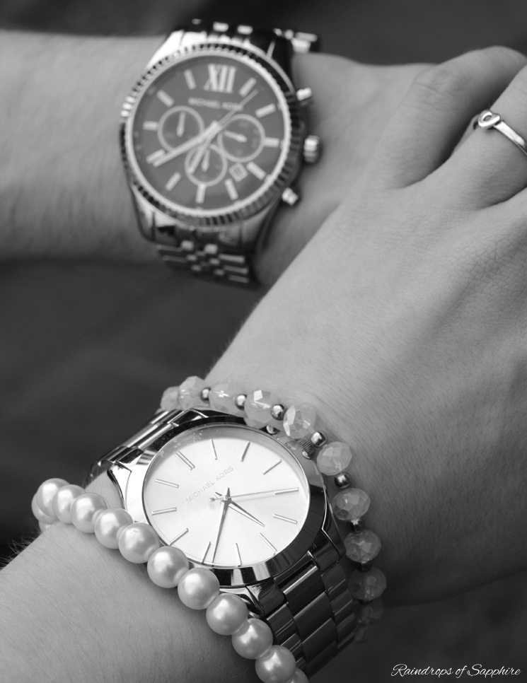 michael kors watches mens womens Michael Kors Chronograph Watch Styled As His And Hers