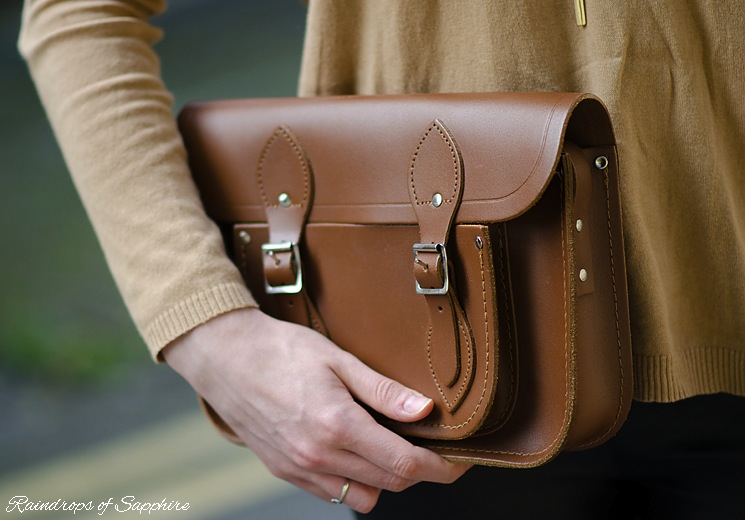 cambridge satchel vintage brown Vintage Inspired With Leather & A Floppy Hat
