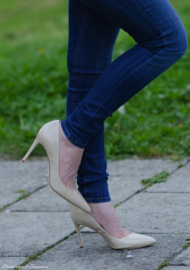 kelya shoes nude Styling The New Hudson Barbara Jeans