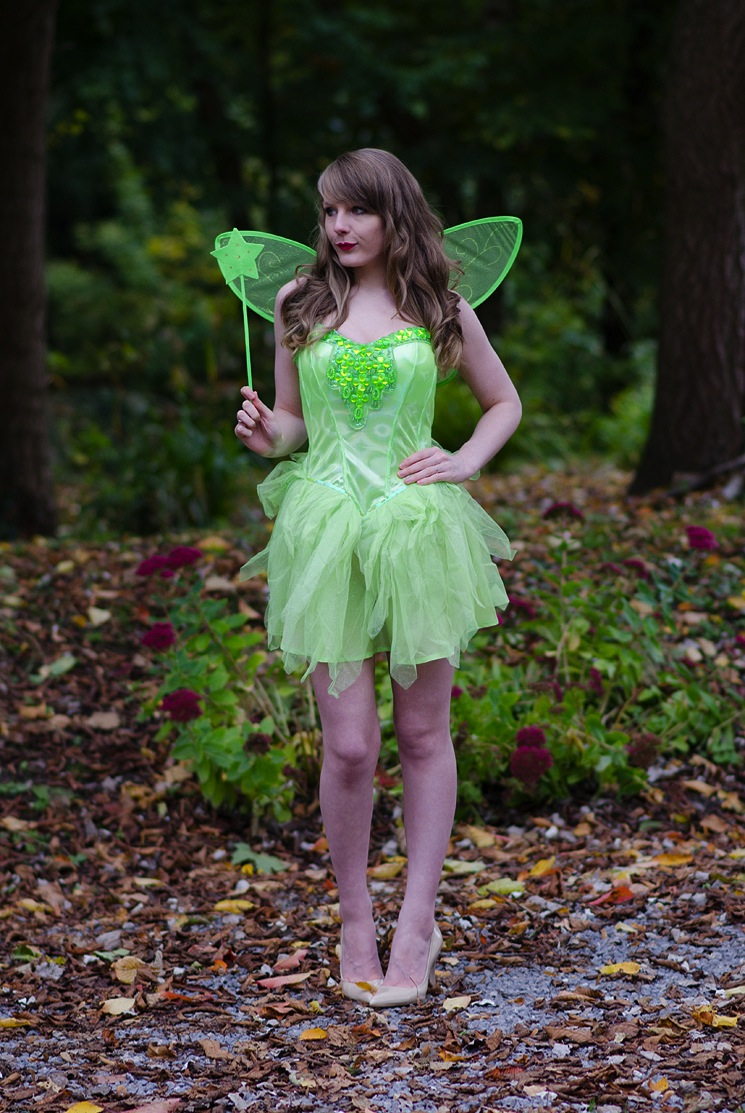 adult tinkerbell costume sexy lorna burford Tinkerbell