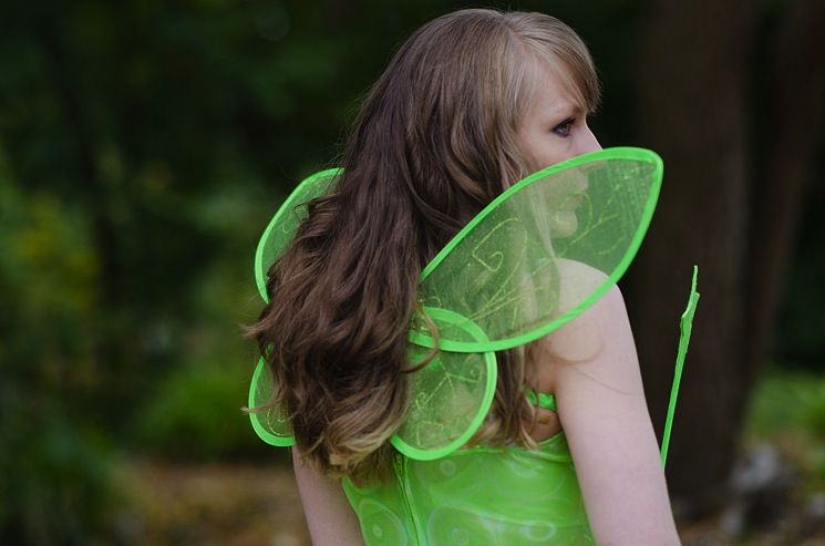 adult tinkerbell costume sexy wings halloween lorna burford Tinkerbell