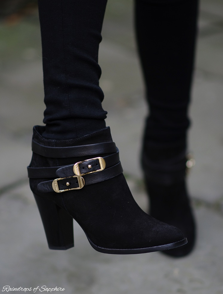 jimmy choo melba boots black suede worn I Feel Like This Is My Signature