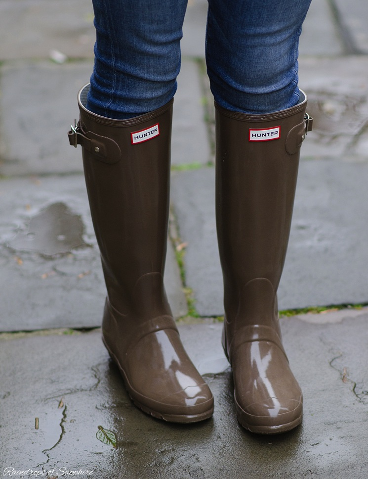 Hunter Wellies Cocoa Brown