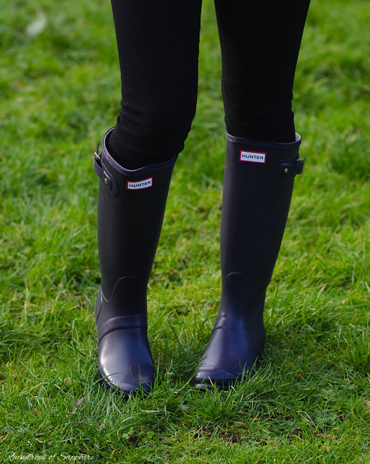 9968ee4d3d9 My Hunter Wellies/Rain Boots Collection | Raindrops of Sapphire