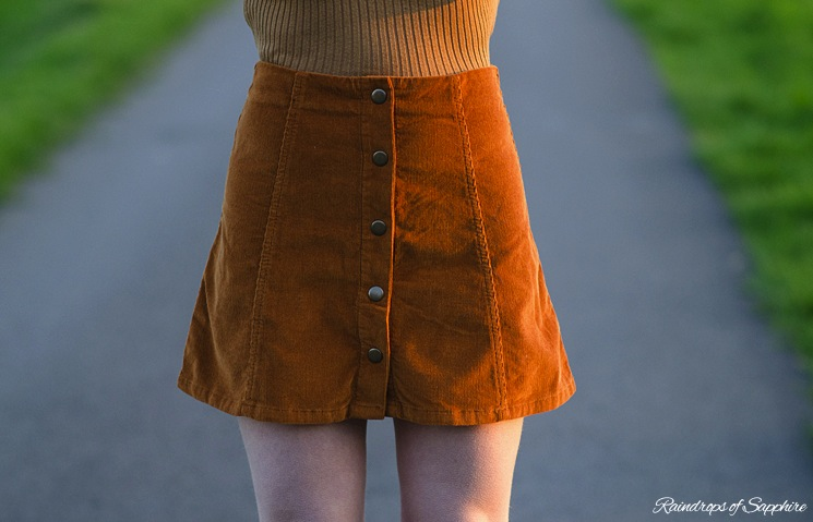 brown-cord-topshop-skirt