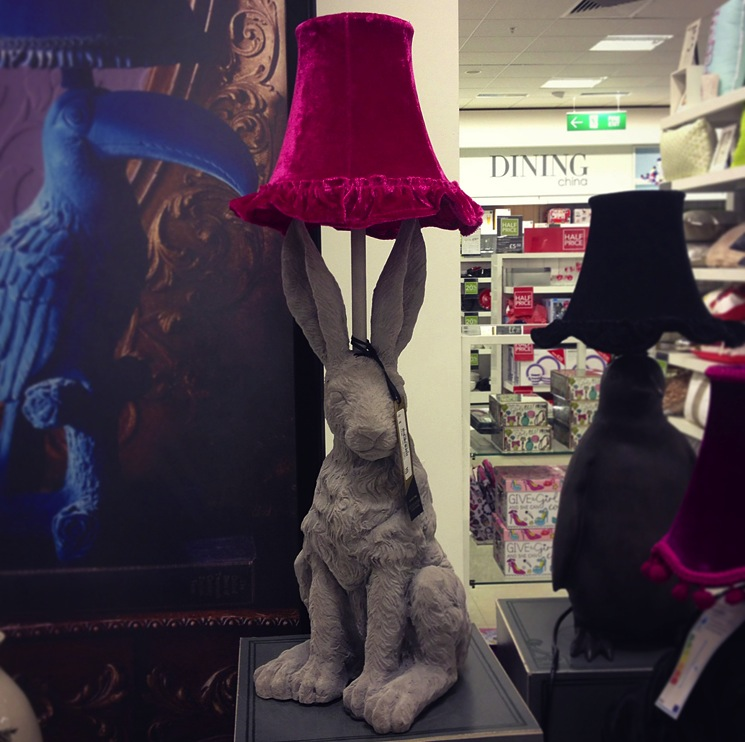 debenhams-rabbit-lamp