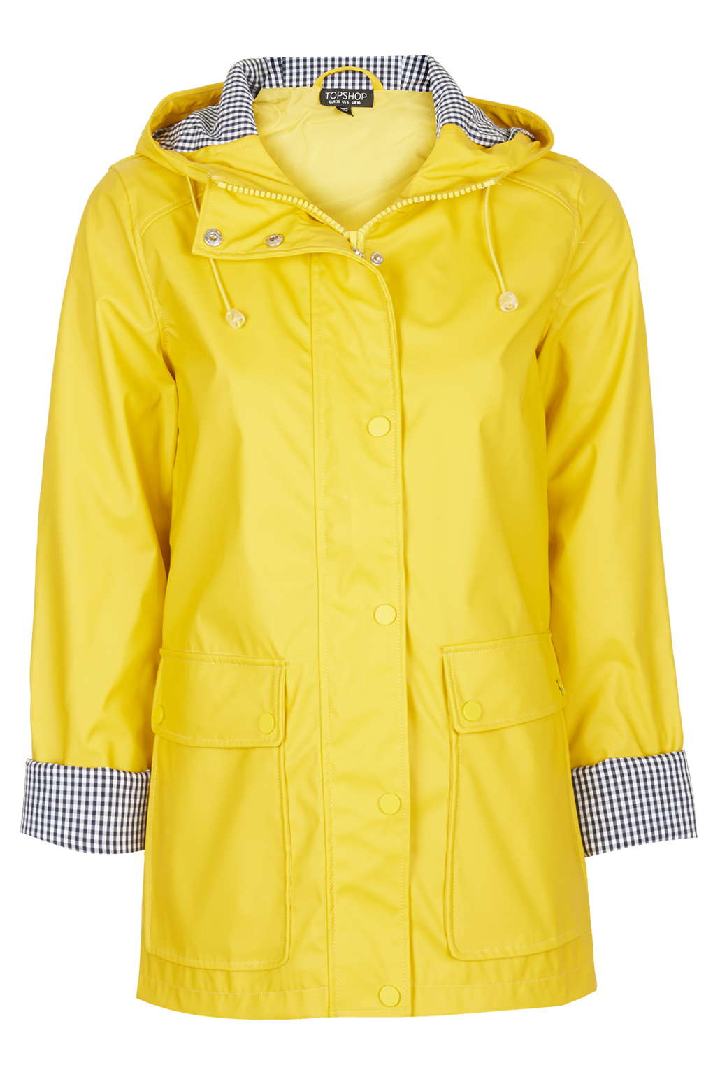 Yellow Rain Jacket - Coat Nj
