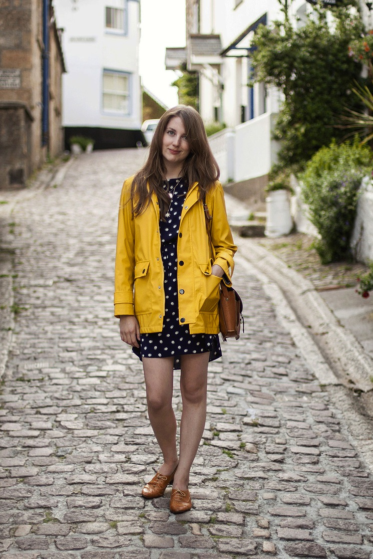 yellow-rain-coat-dress