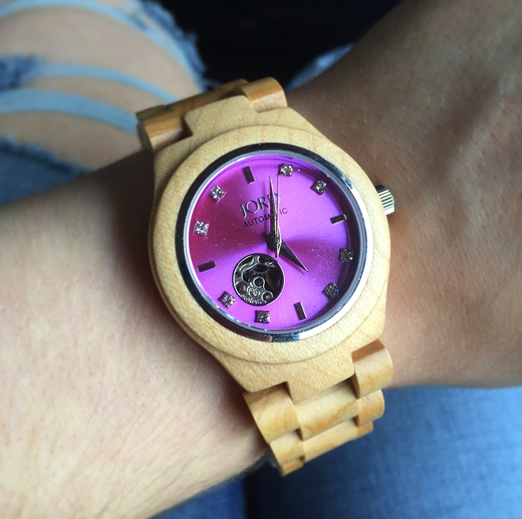 jord-cor-watch-pink-wooden