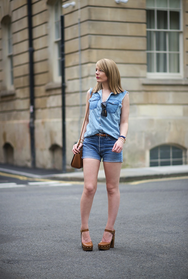uk-fashion-blogger-denim-shorts-shirt